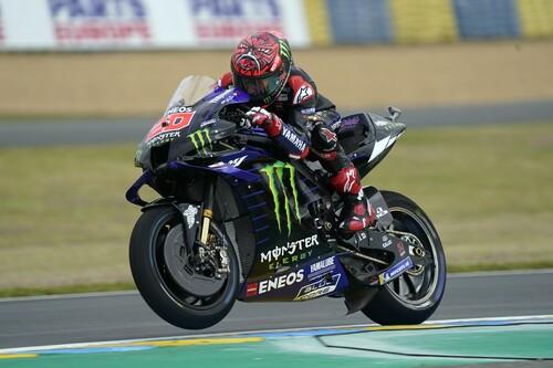 Fabio Quartararo lidera el doblete de Yamaha para quedarse con una pole position que rozó Marc Márquez