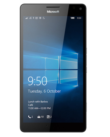 Lumia 950xl Black Front Ssim