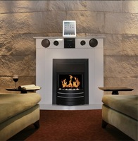 (Falsa) chimenea con dock station para iPad o iPhone
