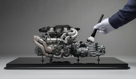Bugatti Chiron motor amalgam