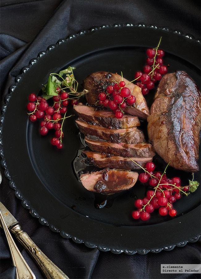 Magret de pato con salsa de grosellas: receta de cena de lujo para dos por menos de seis euros