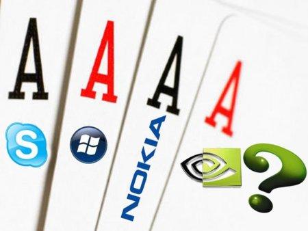 El póquer de ases de Microsoft lo completaría Nvidia