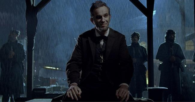 Daniel Day-Lewis es 'Lincoln'