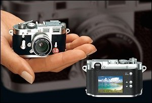 Minox DCC Leica M3, diminuta