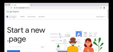 Qué es .page, el nuevo nombre de dominio de Google que es seguro por defecto