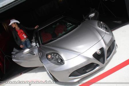 Jarama Vintage Festival Alfa Romeo 4C