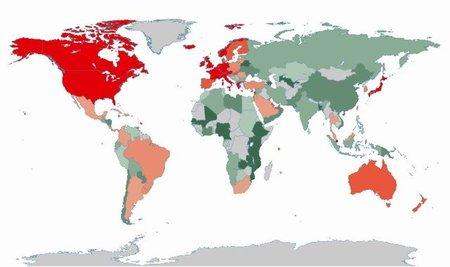 Un nuevo mapa interactivo de la deuda global