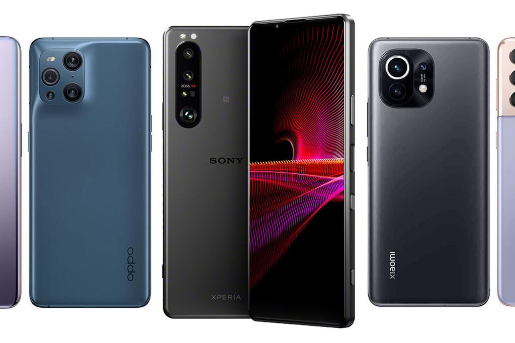 Sony Xperia™ uno III, comparativa: así queda contra OnePlus 9, Xiaomi™ Mi 11, Poco F3, Galaxy™ S21 y resto de gama alta Android
