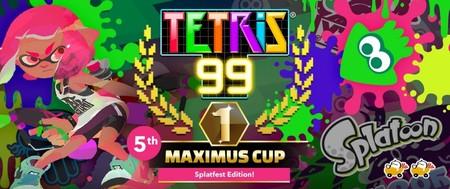 El quinto evento online de Tetris 99 estará dedicado a Splatoon 2 para obtener un tema especial