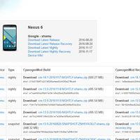 Las nightlies de CyanogenMod 14.1 llegan a más dispositivos: Nexus 7, OnePlus One, Xperia T...
