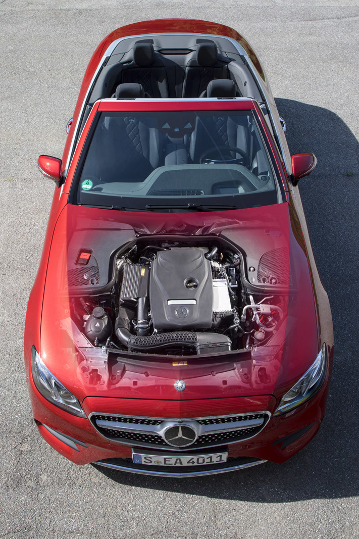 Foto de Mercedes-Benz Clase E Cabrio, toma de contacto (122/156)