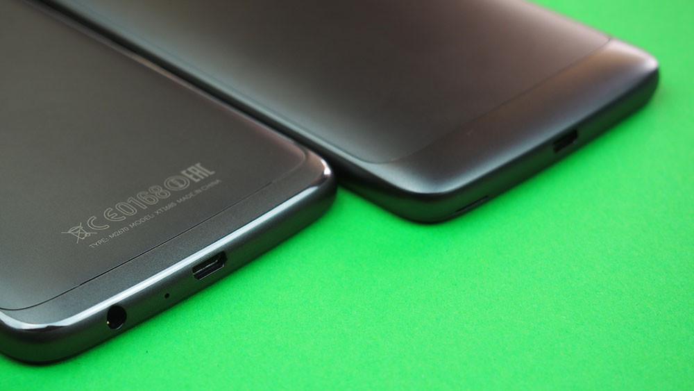 Moto G5 Comparativa