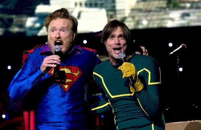 Conan O´Brien y Jim Carrey
