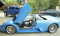 Bam Margera y su nuevo Murcielago Roadster