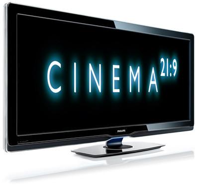 Philips Cinema 21:9, el cine en la televisión