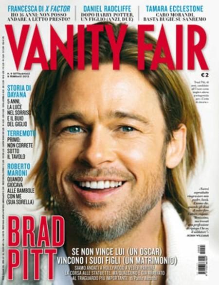 La arruga es bella, pero si es la de Brad Pitt en Vanity Fair es preciosa