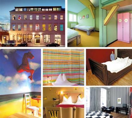Las habitaciones de hotel más artísticas