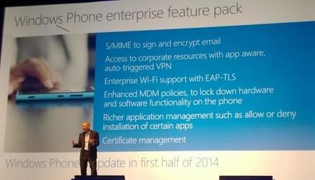 Para el 2015, Windows Phone será el más utilizado en el mercado empresarial