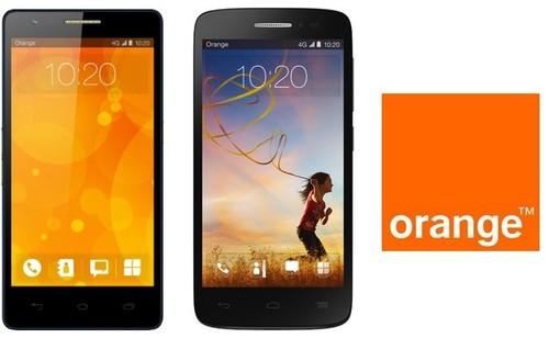 Fova y Roya, los nuevos smartphones 4G de marca Orange