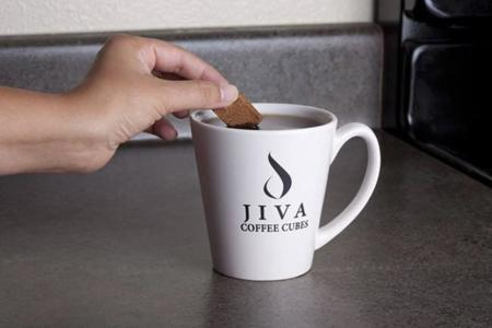 Cubos de café soluble Jiva
