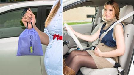 Emobikids, un chaleco para colocar el cinturón de seguridad de forma correcta en el embarazo