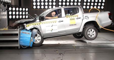 El Mitsubishi L200 se estampa en las pruebas Latin NCAP: cero estrellas en seguridad para la pick-up más vendida en Chile