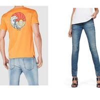 Chollos en tallas sueltas de pantalones, camisetas y cazadoras de marcas como Levi's, Desigual o Rip Curl en Amazon