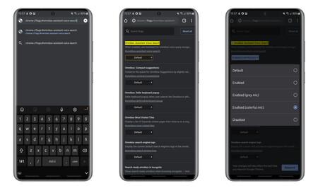 Cómo activar el nuevo diseño de la búsqueda por voz  en Chrome para Android, Cloud Pocket 365