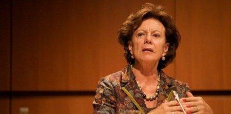 Neelie Kroes, responsable de la Agenda Digital Europea, sueña con artistas que realmente viven de su arte
