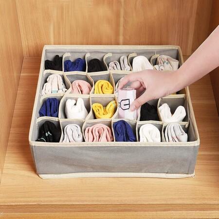 Cajas para almacenar ropa interior