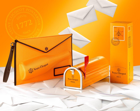 Veuve Clicquot Mailbox, una capsule collection de diseño práctico e ingenioso