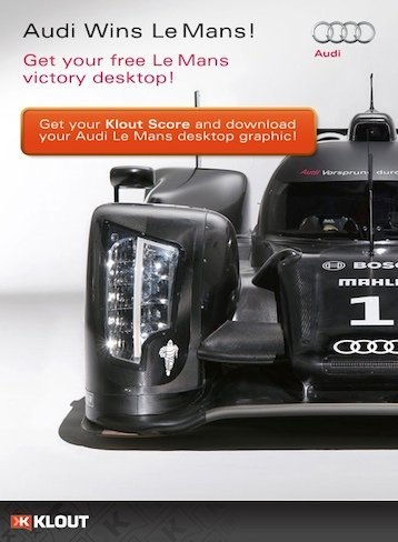 landing page Audi USA