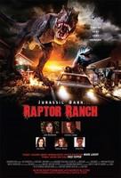 'Raptor Ranch', tráiler y cartel de un disparatado sucedáneo de 'Parque Jurásico'