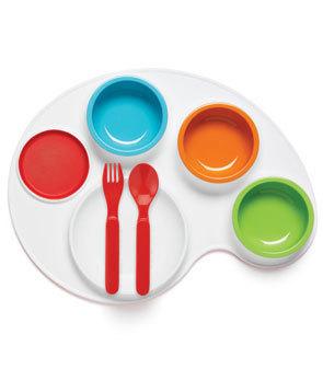 Palette Plate una forma divertida de darles de comer a los peques