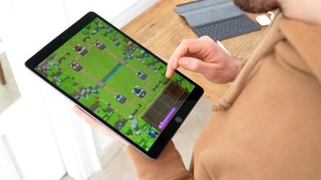 iPad Air 2019 jugando