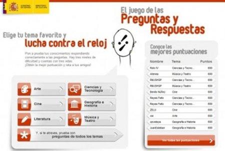 """El juego """"on-line"""" del Ministerio de Cultura muy cuestionado"""