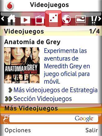 pantallazo vodafone grey