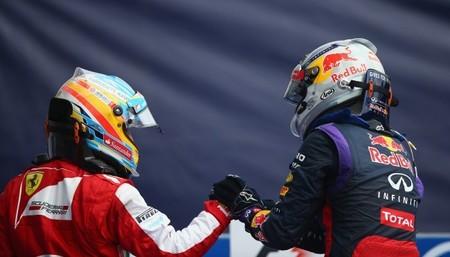 Stefano Domenicali no oculta el interés de Ferrari por Sebastian Vettel