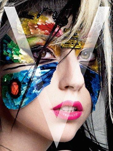 Anonadada me hallo con Lady Gaga en las portadas de V Magazine Japón
