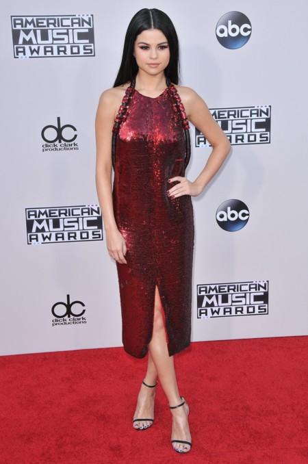 Selena Gomez Givenchy American Music Awards 2015 2