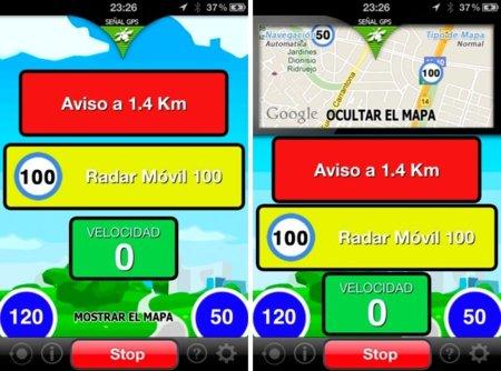 Detector de radares para iOS, labor preventiva desde el iPhone de forma eficaz