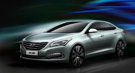 Hyundai Mistra Concept, sedán de gama media en Shangái, sólo para China