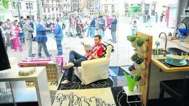Reciclaje a la vista en Bilbao
