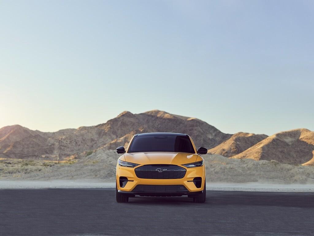 El Ford Mustang Mach-E GT podría no ser el más potente de la gama: hay posibilidad de aún más poder