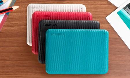 A precio mínimo, el Toshiba Canvio Advance de 2 TB sale muy barato en Amazon: hazte con él por sólo 67,99 euros