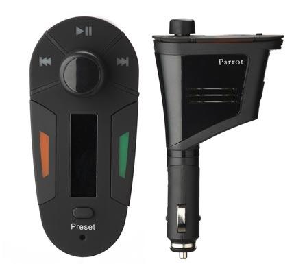 Parrot PMK5800, manos libres y música en el coche sin instalación