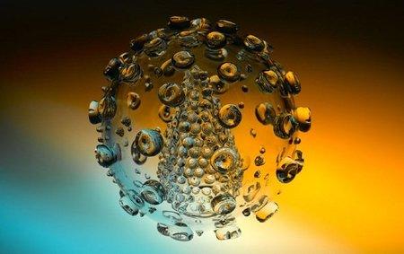 Réplicas realizadas en vidrio de virus, bacterias y parásitos
