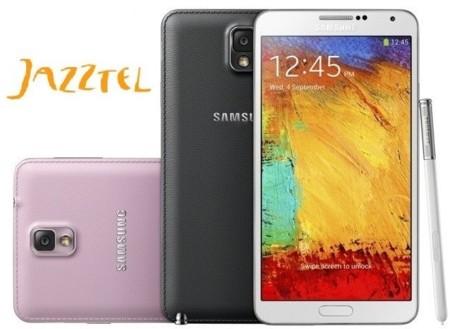 Precios Samsung Galaxy Note 3 con Jazztel y comparativa con la competencia