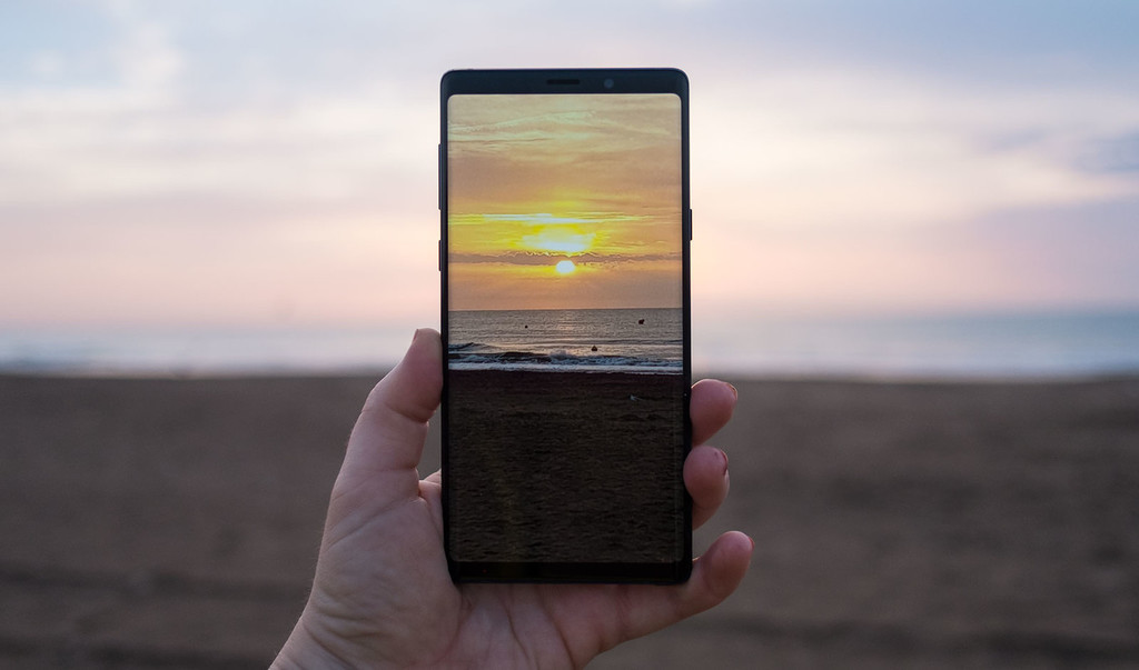 The Samsung Galaxy Note 9 begins to be upgraded with the function of night mode for your camera