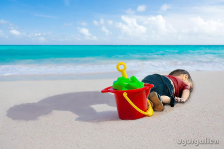 Syrian Boy Drowned Mediterranean Tragedy Artists Respond Aylan Kurdi 9 700